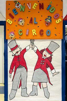 """Curso 2012/13. XV Semana Cultural.""""El Circo"""" Lema: """"Había una vez un circo que alegraba siempre el corazón"""""""
