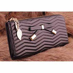 Womens #black leather #purse