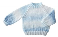 This cute and cozy baby sweater and hat ensemble includes Mary Maxim Sugar Baby Stripes yarn. Sweater Hat, Sugar Baby, Knit Or Crochet, Baby Sweaters, Mary, Stripes, Pullover, Knitting, Cute
