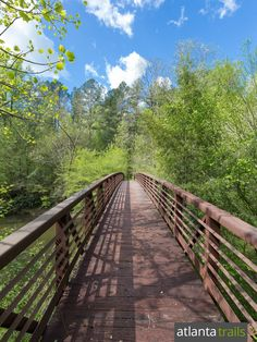 The Bartram Trail crosses a bridge over West Fork Chattooga River in Rabun County