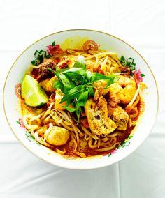 Malay curry laksa (laksa lemak)
