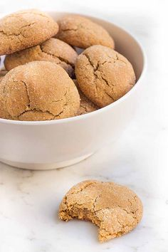 If you're on a gluten-free diet, these are the cookies for you. Made with molasses and warming spices, they bake up nice and soft, delicious with a cup of hot cocoa. Get the recipe: https://foodal.com/recipes/desserts/gluten-free-soft-ginger-cookies/