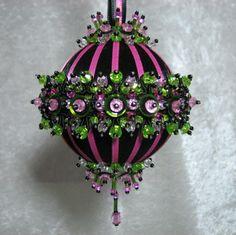 Beaded Christmas Ornament Kit Midnight Cabaret. ... | Christmas cra…