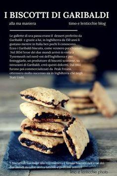 I biscotti di Garibaldi Non potevo non riproporli perchè anche io come il grande eroe dei due mondi amo i dolci semplici, senza zuccheri aggiunti, con frutta secca. #biscuits#healthyfood #veganrcipes