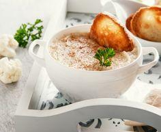 chou-fleur, asperge, emmental, bouillon de poule, Sel, Poivre, jambon, sucre, herbes de Provence, curry, piment, ciboulette