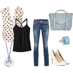 Polka dot day out