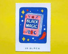 Black Magic, Stickers, Cover, Books, Prints, Inspiration, Etsy, Biblical Inspiration, Libros