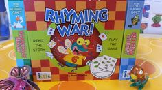 Essential reading and math readiness skills in one! Like the classic game of War, it reinforces both number counting and reading. Each card has it's part of a rhyming set that reinforces early readers developing a sense of phonics. Rhyming Games, Phonics, Early Readers, School Readiness, Riddles, Counting, Back To School, War, Number