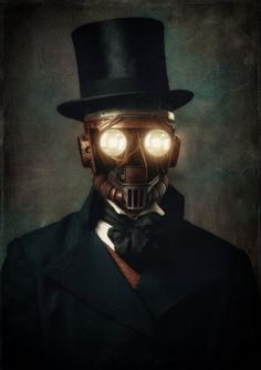 Gentleman Bot by @Elephant_ITR - Steampunk Tendencies - Google+