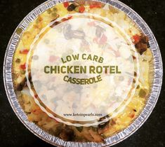 Low Carb Chicken Rotel