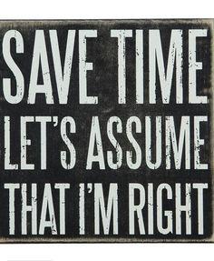 Save Time Wall Decor