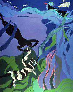 Romare Bearden - The Sea Nymph, 1977.
