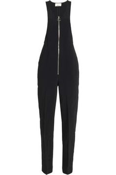 3.1 PHILLIP LIM WOMAN CREPE JUMPSUIT BLACK. #3.1philliplim #cloth #