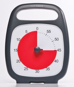We love analog clocks for time management and organized study habits!!  Time Timer Plus #amazon #cometoorder
