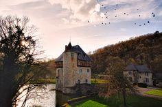 Crupet Castle  ~ Château de Crupet  [Donjon Carondelet] by SergeK , via Flickr #Crupet #Belgium #Wallonia