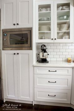 42 awesome kitchen microwave cabinet images kitchen units new rh pinterest com
