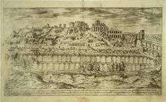 Etienne Duperac, I vestigi dell'antichita di Roma. Rome, 1575. The many views of Rome published by Etienne Duperac late in the sixteenth century, like this splendid, nostalgic view of the Circus Maximus and the Palatine, both provided newly accurate visual information and conveyed a rich sense of the decayed state in which Rome's antiquities lay. Collectors assembled albums of these printed views, which often varied from one another in content. These albums circulated widely and provided the…