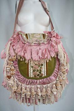 Victorian Gypsy Handbag Bohemian European by TurtleDoveBagsEtc, $225.00