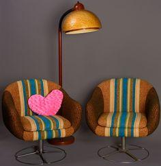 vintage original 60's armchairs ungarstyle.com
