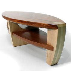 Hand Crafted Coffee table by Pagomo Designs | CustomMade.com I love the small size of the table and the shape of the table not big but not to small.