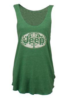 Jeep Gear: Product 'Ladies' Jeep Tank Top'