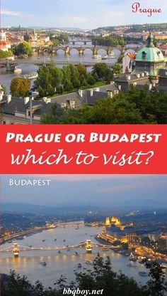 This post compares all the similarities, differences and things that are unique to Prague and Budapest. By the time you've finished reading this post you'll most likely have figured out which city to visit. #bbqboy #Prague #Budapest #cityrumble #travel