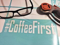 HashTag (#) CoffeeFirst has been a long time coming. You can guarantee that several new decals for Coffee / Espresso lovers are about to be added to this store. I'm excited to finally add this to the lineup.     This is a perfect gift for any coffee lover.     #CoffeeFirst is:  Cut on 6 year indoor / outdoor vinyl.   Color: Black, White, Pink, Cappuccino     Cheers to you fellow coffee lovers.  If you have any questions feel free to message me. I'll get back quickly.     And remember that I…