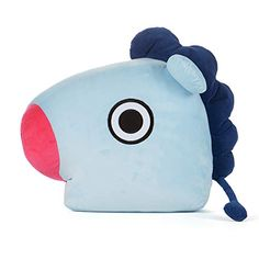 Official Merchandise by Line Friends - MANG Decorative Throw Pillows Cushion, Inch