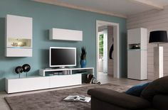 Amsterdam Combination-11336 Modern Wall Unit by Creative Furniture
