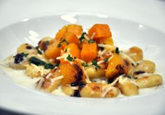 Brown Butter Gnocchi with Roasted Squash. #dinner #recipe