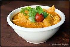 Thai Pineapple Chicken Curry...one of my Favorite Thai dishes