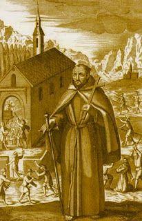 Santo franciscano do dia - 24/04 - São Fidélis de Sigmaringa Sacerdote, mártir da Primeira Ordem (1577-1622). Canonizado por Bento XIV em 1746