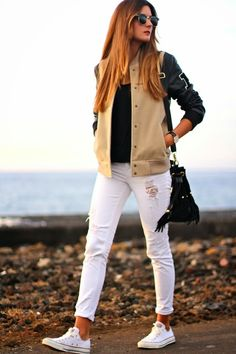 Marilyn's Closet - FASHION BLOG: College Bomber