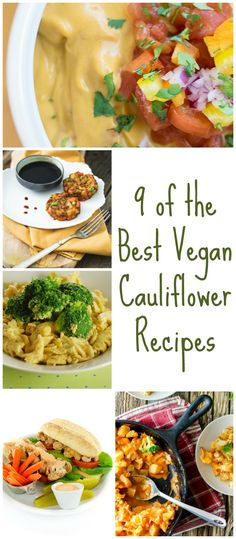 9 of the Very Best Vegan Cauliflower Recipes