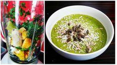 Śniadanie mistrzów - zielony smoothie Palak Paneer, Mango, Ethnic Recipes, Food, Manga, Essen, Meals, Yemek, Eten