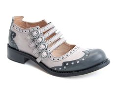 Adrians | Alli [Blue & Gray]    I like them, BUT they look like clown shoes.