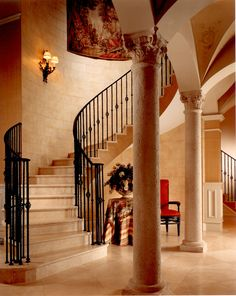 Grand Foyer #staircase#interiordesign