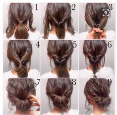 Easy, hope this works out quick morning hair!: Easy, hope this works out quick morning hair!:,Прически Easy, hope this works out quick morning hair! Peinado Updo, Hair Photo, Hair Lengths, Hair Inspiration, Colour Inspiration, Hair Cuts, Hair Beauty, Beauty Makeup, Pinterest Hairstyles