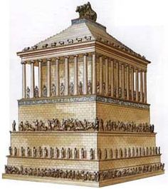 The Mausoleum At Halicarnassus