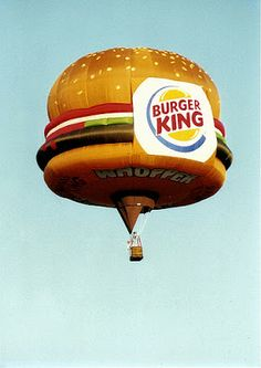 Burger King Drops 'Have It Your Way' for Much Stranger Motto Flying Balloon, Love Balloon, Air Balloon Rides, Helium Balloons, Hot Air Balloon, Albuquerque Balloon Festival, Air Balloon Festival, Memorial Day, Air Ballon