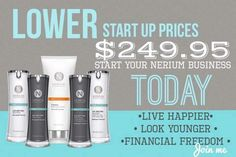 I'm looking for 3 ambitious people to join my team! If you've been thinking of making a change, now is the time!  http://nerium.com/join/meganandshannon