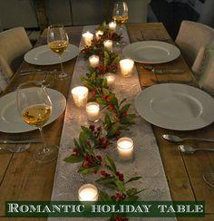 Romantic Holiday Setting