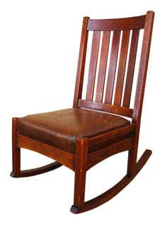 Stickley sewing rocker.  Good guitar playing chair.
