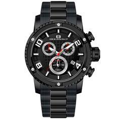 Oceanaut Men's Impulse Watch in Black