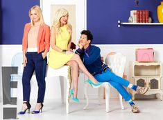 Mystery Girls from First Look at Tori Spelling and Jennie Garth's Mystery Girls