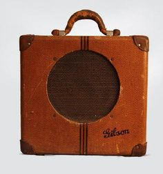 one of the world's first electric guitar amps, the gibson EH-150.  has the smoothest jazzy tone when played softly, but a natural overdriven sound with hard picking.