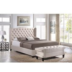 Magnussen B2935 Monroe Panel Bed | Overstock.com Shopping - The Best Deals on Beds