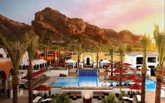 Paradise Valley, Arizona at the Montelucia....I love looking at Camelback Mountain every day!
