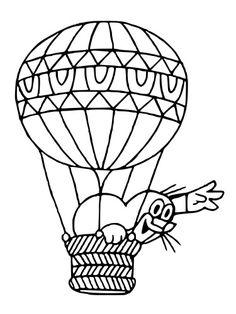 Výsledek obrázku pro krtek s balonem