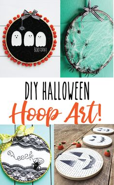 I've gathered up some of my favorite DIY Halloween Embroidery Hoop Art Projects Machine Embroidery Thread, Embroidery Hoop Crafts, Halloween Embroidery, Machine Embroidery Designs, Halloween Projects, Halloween Crafts, Halloween Ideas, Halloween Stuff, Happy Halloween